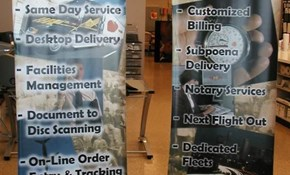 Retractable Banners, Pop-Up Banners and Stands